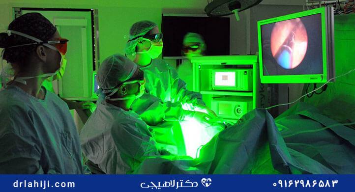درمان پروستات با لیزر