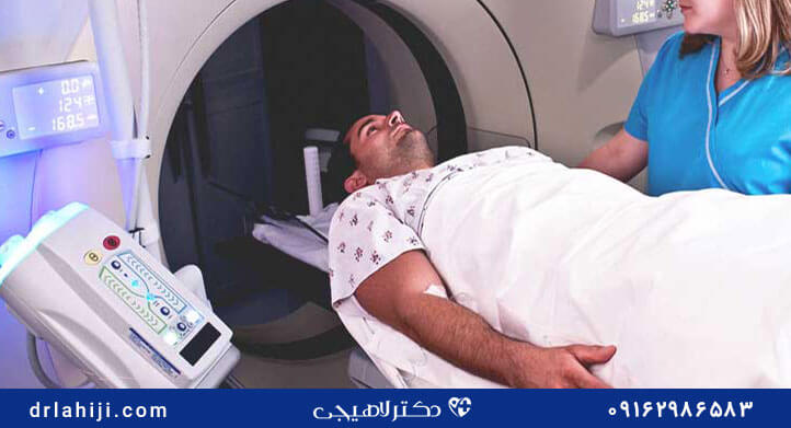 سی تی اسکن برای سرطان پروستات