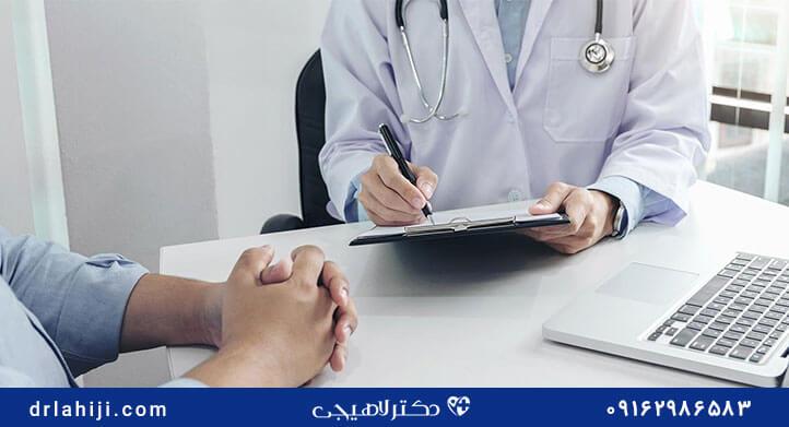 دکتر لاهیجی برای سرطان پروستات