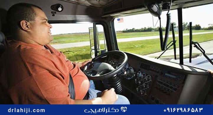 سرطان پروستات در رانندگان کامیون